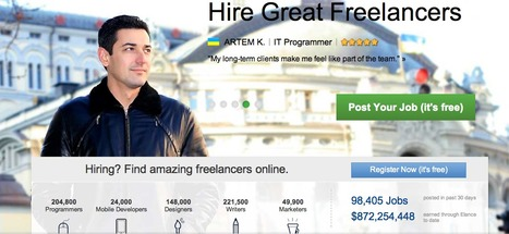 Hire freelancers and find freelance jobs instantly | Elance | Markedsføring | Scoop.it