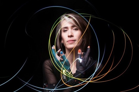 Imogen Heap's sensor-packed gloves will change digital music making forever (interview) | Industry News: Mi.Mu Gloves | Scoop.it