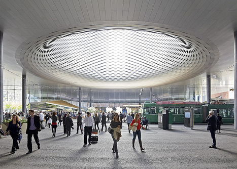Messe Basel New Hall by Herzog & de Meuron | The Architecture of the City | Scoop.it