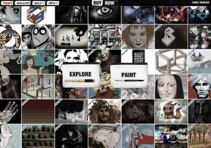 Psykopaint : peindre sur internet | Geeks | Scoop.it