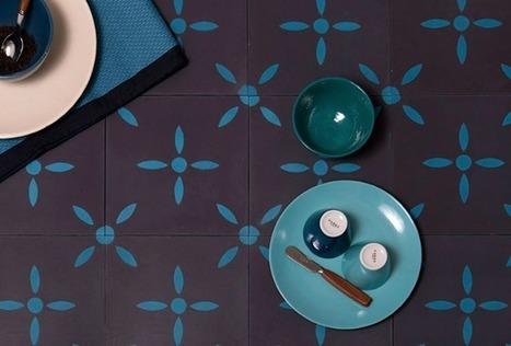 Coup de coeur – La Maison Bahya & ses carreaux de ciment – Cocon de décoration: le blog | Décoration | Scoop.it
