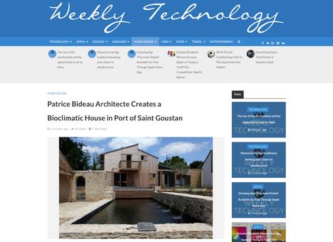 """ a.typique Patrice Bideau Architecte Creates a Bioclimatic House in Port of Saint Goustan "" - Weekly Technology | Architecture Organique | Scoop.it"