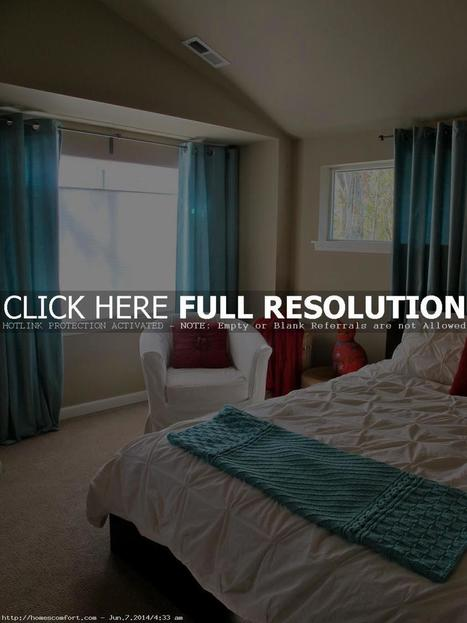 Modern Turquoise Bedroom Curtains | Home Design | Scoop.it