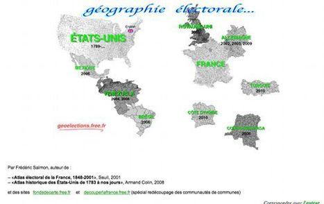Géographie électorale: France, Etats-Unis, etc. | Remue-méninges FLE | Scoop.it