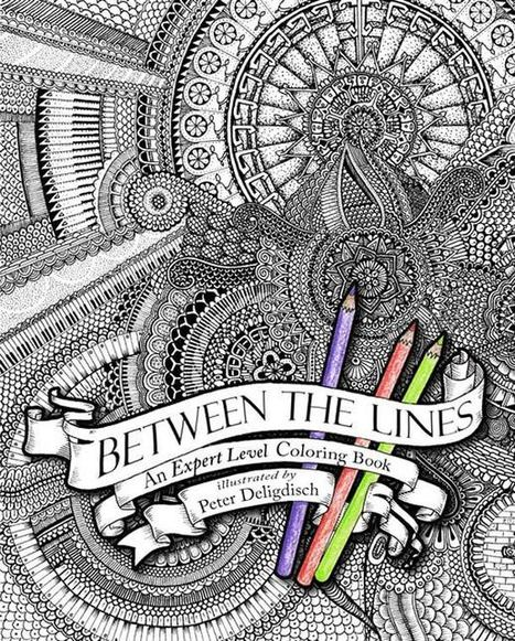 Between the Lines – The expert mode of coloring book…   Culture and Fun - Art   Scoop.it
