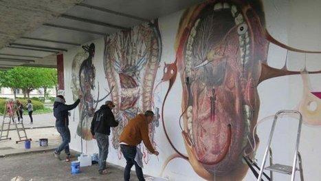Street art : découvrez les fresques en plein air à l'hôpital de Lagny-sur-Marne – - France 3 Paris Ile-de-France | World of Street & Outdoor Arts | Scoop.it