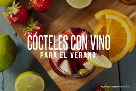 Cócteles elaborados con vino para el verano. | Bares y restaurantes buenos bonitos y baratos en Barcelona - Los Bonvivant - www.losbonvivant.com | Scoop.it