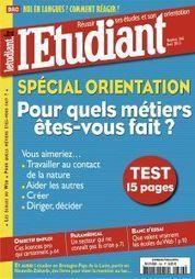 L'Etudiant  - n° 366 - avril 2013   Semaine de Presse au CDI André MALRAUX   Scoop.it