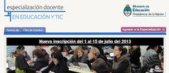 Una noticia pasta los amigos docentes de Argentina: Especialización en Educación y TIC. Inscríbanse del 1 al 15 de julio | Recursos TIC para educación | Scoop.it