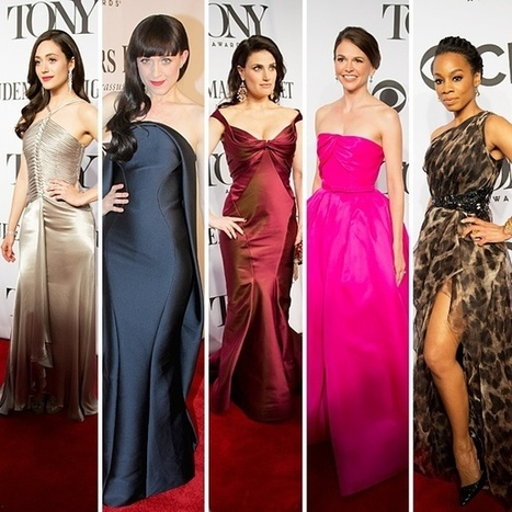 Fashion Roundup! Broadway.com Ranks the Best-Dressed Ladies & Gents at ... - Broadway.com | Shopping | Scoop.it