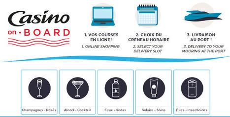 Géant Casino livre gratuitement les courses aux plaisanciers | Retail Innovation | Scoop.it