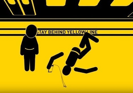 Watch a distracted smartphone user get crushed in L.A. Metro's new safety campaign | CLOVER ENTERPRISES ''THE ENTERTAINMENT OF CHOICE'' | Scoop.it