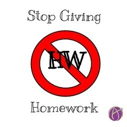 Stop Giving Homework (Alice Keeler blog) | Linguagem Virtual | Scoop.it