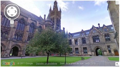 Google Street View vous permet de visiter les Universités | toute l'info sur Google | Scoop.it