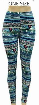Womens Aztec Printed Leggings | Wholesale Clothing Online | Scoop.it