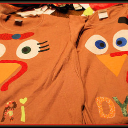 DIY No Sew Turkey Shirt | Crafts | Scoop.it