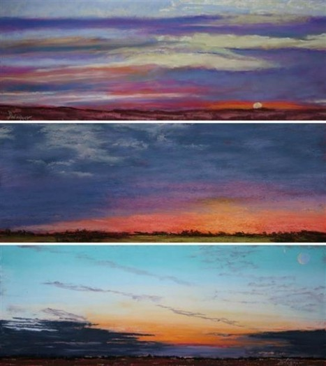 Brain Tumor Survivor Has Painted Every Sunrise for the Last Seven Years | Strange days indeed... | Scoop.it