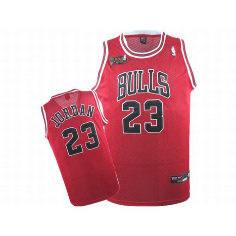 NBA Final Jordan #23 Red Bulls Jersey Black Number | new and share style | Scoop.it