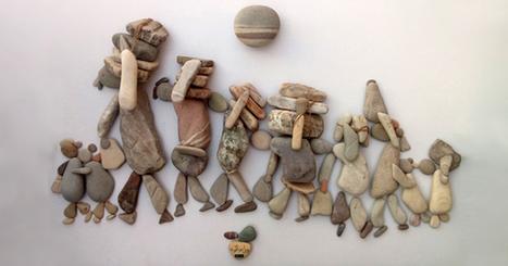 Les pierres de l'artiste syrien Nizar Ali Badr | KEDISTAN | Ca m'interpelle... | Scoop.it