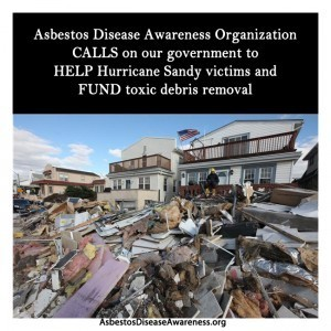 ADAO CALLS on our government to FUND Hurricane Sandy toxic debris removal to HELP victims   Asbestos and Mesothelioma World News   Scoop.it