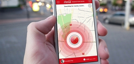 Coca-Cola crée une application/radar qui vous permet de venir en aide aux personnes dans le besoin | Vous avez dit Innovation ? | Scoop.it