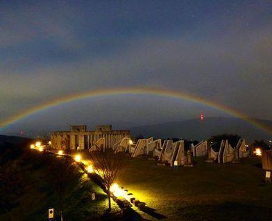 PHOTO: Rare lunar rainbow appears in Gunma night sky - Asahi Shimbun | Amazing Rare Photographs | Scoop.it