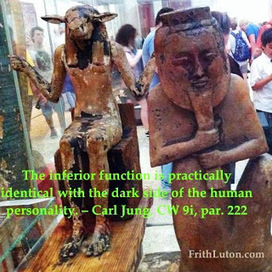 """Carl Jung on """"Inferior Function."""" Lexicon. 