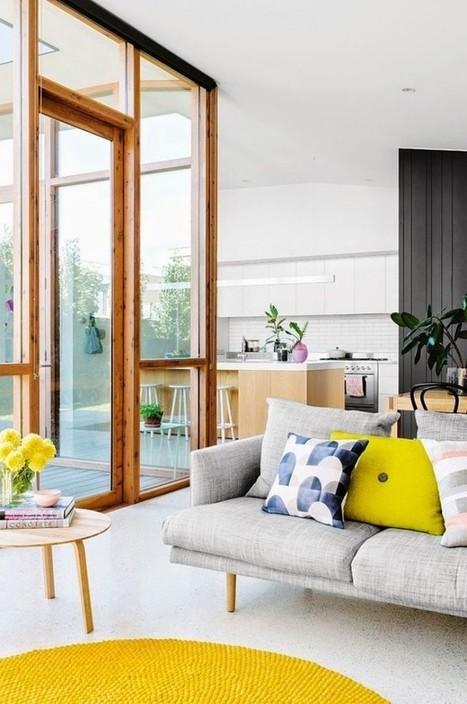 Inspiration – Le jaune met du tonus dans votre déco – Cocon de décoration: le blog | Lifestyle | Scoop.it
