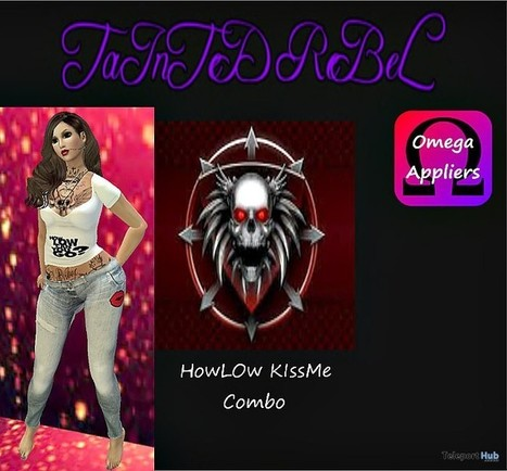 HowLow KissME Combo Outfit with Omega Applier Gift by TaInTeD ReBeL | Teleport Hub - Second Life Freebies | Second Life Freebies | Scoop.it