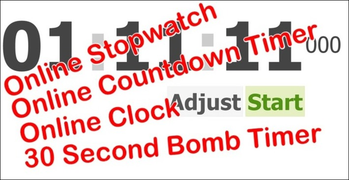 Edu-Curator: Voor je digibord! Prachtige online countdown timer, stopwatch, klok en bom | Educatief Internet - Gespot op 't Web | Scoop.it