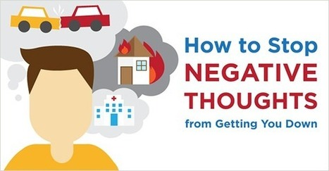 Infographic: How to Stop Negative Thoughts from Getting You Down | Liderazgo, Psicología Positiva y más... | Scoop.it