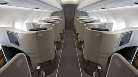 A private realm: American Airlines' new transcontinental service in first class | business travel | Scoop.it
