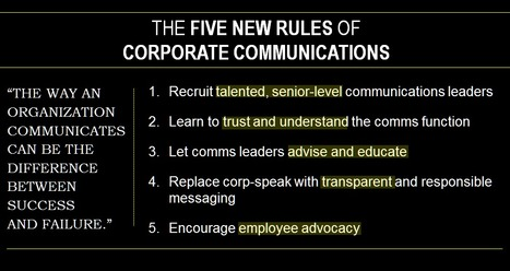 The New Rules of Corporate Communications   Fast Company   SocialMoMojo Web   Scoop.it