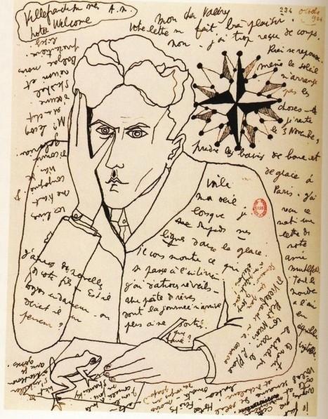 1924 JEAN COCTEAU / self portrait in a letter to Paul Valery /   art on dapaper mag   Scoop.it