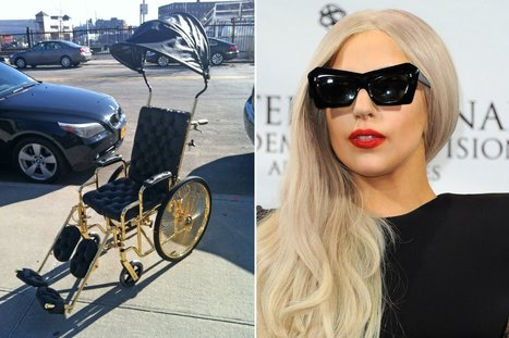 Introducing Lady Gaga's 24-Karat Wheelchair | Gabby's Gab | Scoop.it