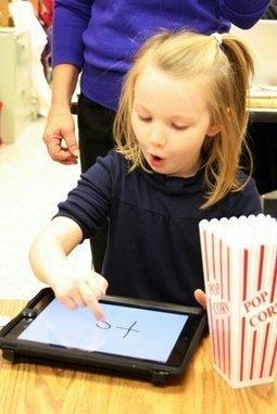 Hi-tech Kindergarten - BethesdaMagazine.com (blog) | iPads in Kindergarten | Scoop.it