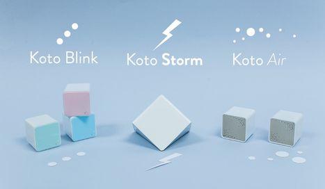Koto, des capteurs connectés pour une maison plus saine | Soyons Geeks & Or-e-ginaux | Scoop.it