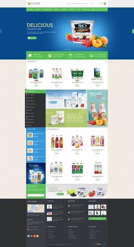 Ves Milk Store Responsive Magento Theme - ServerThemes.Net | Best Premium Magento Themes | Scoop.it