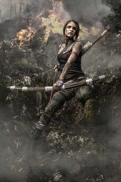 Stunning Lara Croft Cosplay Photos Could Come from a Live Action Movie | dancefinger | Scoop.it
