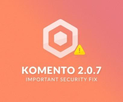Important Komento 2.0.7 Security Fix | Just Joomla! | Scoop.it