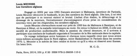 "Afghanistan Info - ""Un beau livre""   Louis Meunier   Scoop.it"