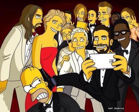 Selfie des Oscars | The simpsons | Scoop.it