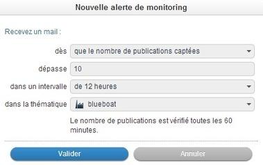 Programmer des alertes veille et community management avec Radarly | Blueboat : E-réputation | Brand Content -  Marketing - Web | Scoop.it