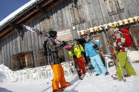 Comment skier moins cher avec le ski collaboratif - Biba Magazine | société collaborative | Scoop.it