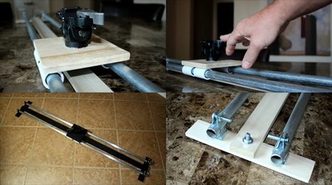 The Easiest DIY Slider I've Ever Seen « Some Call Me … Kris | DIY DSLR for Video | Scoop.it