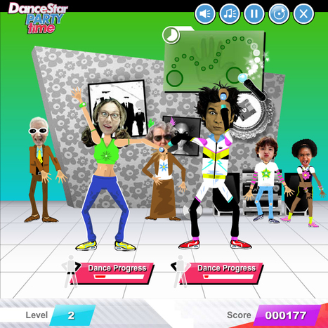 Dancestar Party Time | Online Web Games | Scoop.it