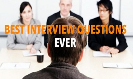 10 of the Best Interview Questions Ever | AANVE! |Website Designing Company in Delhi-India,SEO Services Company Delhi | Scoop.it