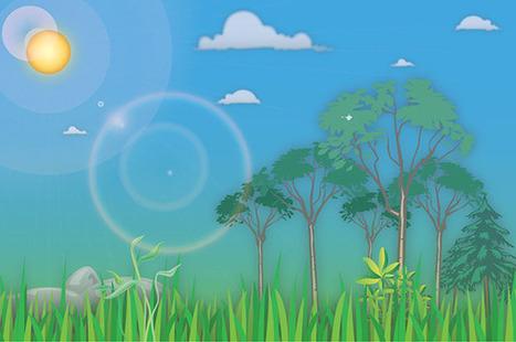 Learn Illustrator Vector Art to Create a Cartoon Landscape | Illustrator tutorials | Scoop.it