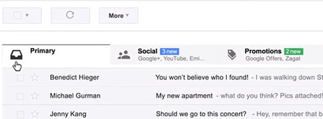 How E-Mail Marketers Can Survive Gmail's Tabbed Inbox | Marketing Online | Scoop.it
