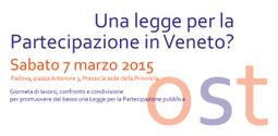 7 marzo a Padova OST su Una legge per la Partecipazione in Veneto?   Urbanistica e Paesaggio   Scoop.it